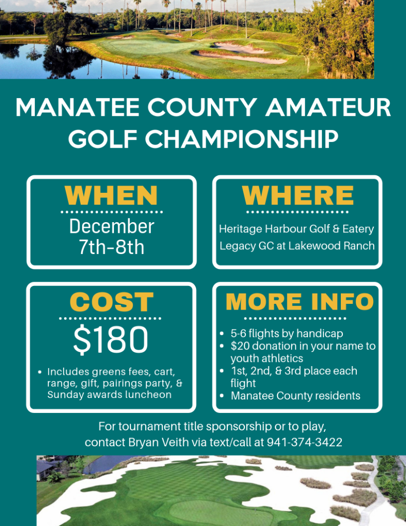 Manatee County Amateur Championship Heritage Harbour